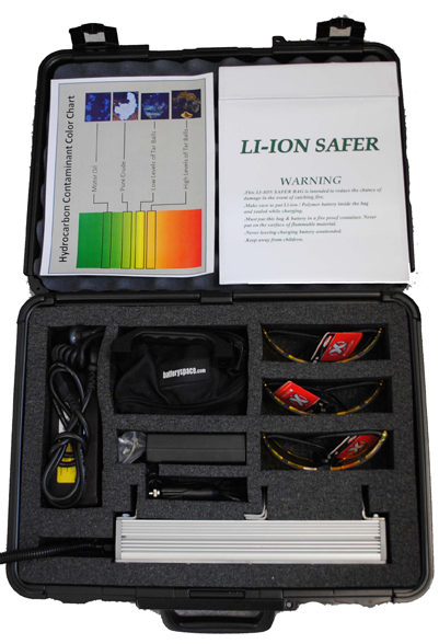 uv oil safety kit